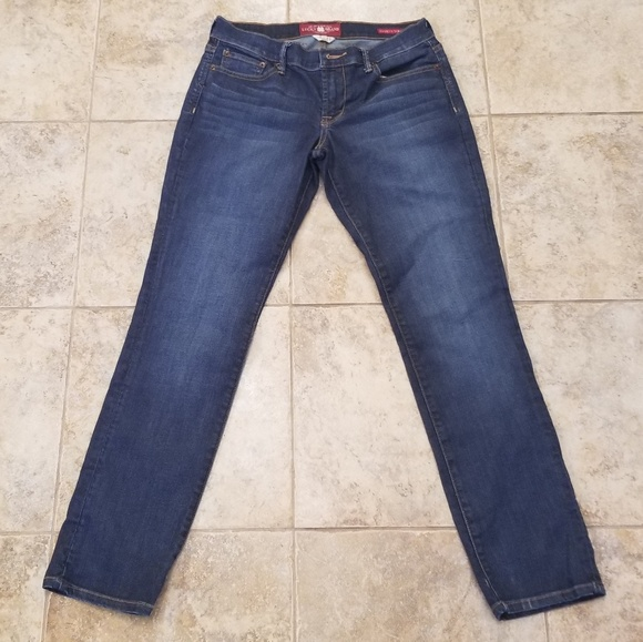 Lucky Brand Denim - Lucky Brand Like New Stretch Straight Blue Jeans